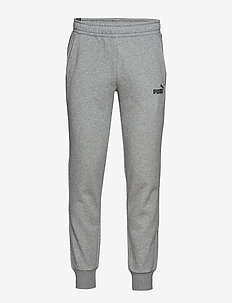 ESS Logo Pants FL cl - pants - medium gray heather