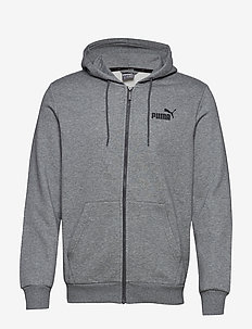 ESS FZ Hoody FL - hupparit - medium gray heather