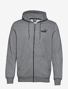 ESS FZ Hoody FL - hoodies - medium gray heather