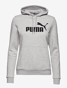 ESS Logo Hoody FL - huvtröjor - light gray heather