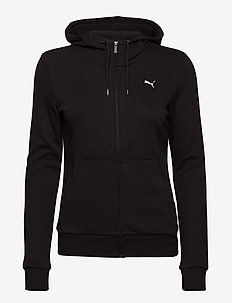 ESS Hooded Jacket TR - hupparit - cotton black-cat
