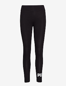 ESS Logo Leggings - løbe- og træningstights - cotton black