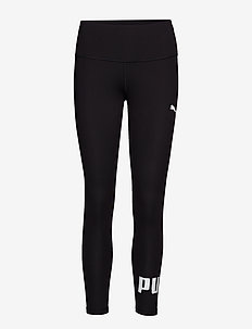 Active Logo Leggings - running & training tights - puma black