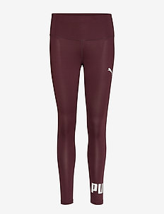 Active Logo Leggings - running & training tights - vineyard wine