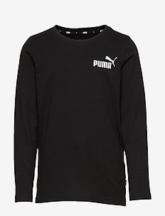 ESS Logo Longsleeve Tee B - COTTON BLACK
