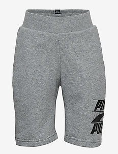 Rebel Bold Shorts TR B - MEDIUM GRAY HEATHER