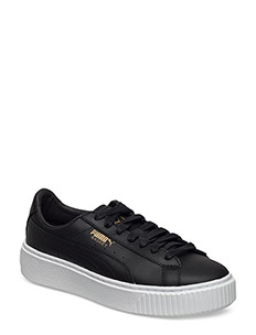 Basket Platform Core - PUMA BLACK-GOLD