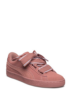 Suede Heart Satin II Wn's - CAMEO BROWN-CAMEO BROWN