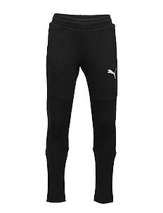 PUMA Alpha Velvet Pants G Black Barn Klær Sport Underdeler