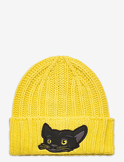 Animal Beanie - beanie - super lemon-panther