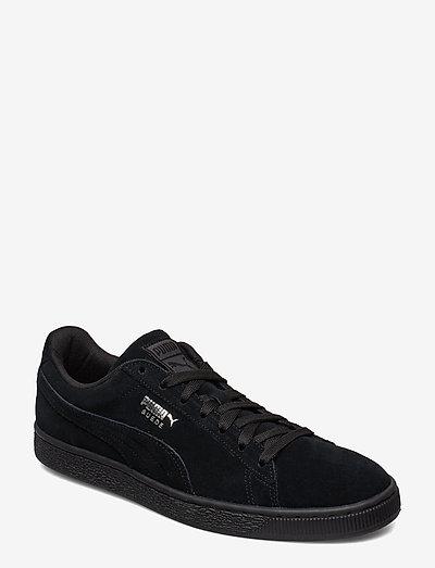 Suede Classic+ - låga sneakers - black-dark shadow