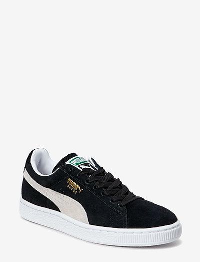 Suede Classic+ - låga sneakers - black-white