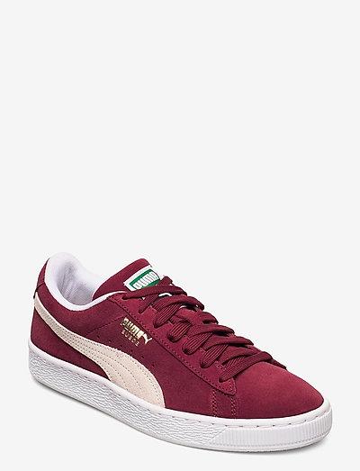 Suede Classic+ - låga sneakers - cabernet-white