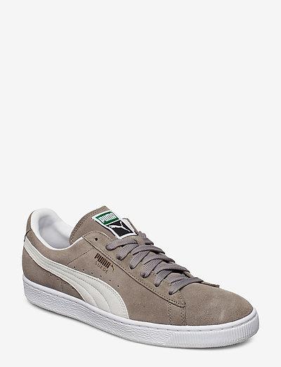 Suede Classic+ - låga sneakers - steeple gray-white