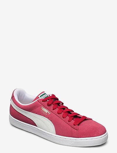 Suede Classic+ - låga sneakers - team regal red-white