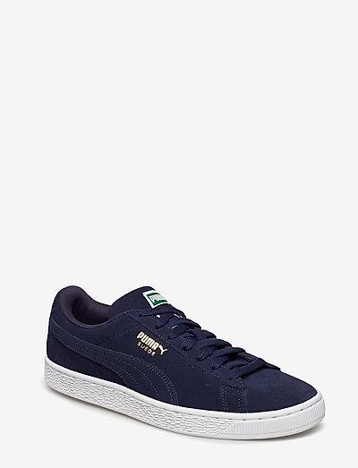 Suede Classic + - låga sneakers - peacoat-peacoat-white
