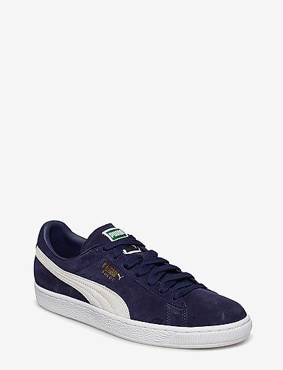 Suede Classic + - låga sneakers - peacoat-white