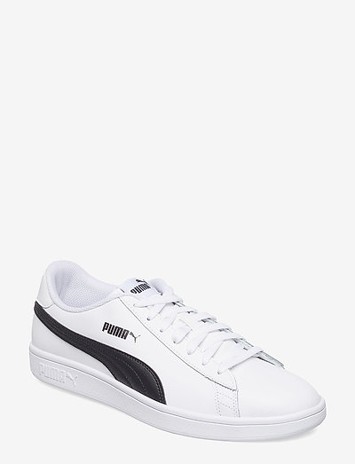 Puma Smash v2 L - låga sneakers - puma white-puma black