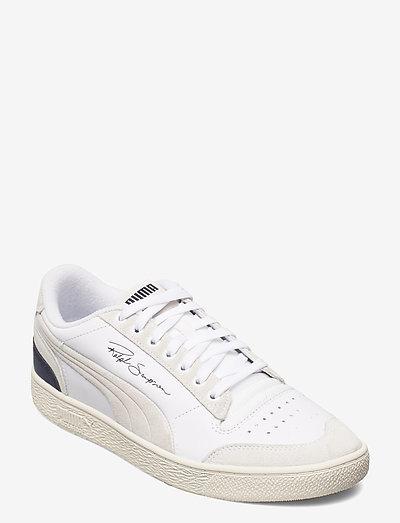 Ralph Sampson Lo Prm - låga sneakers - puma white-peacoat-whisper white