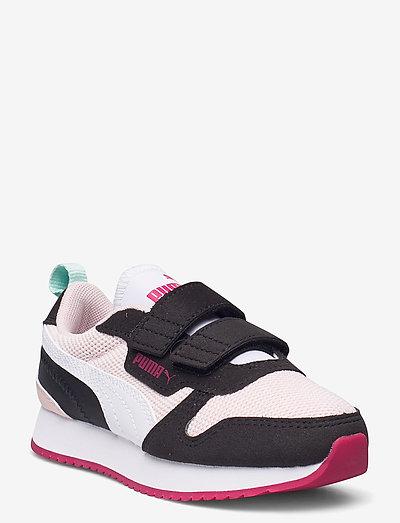 Puma R78 V PS - låga sneakers - lotus-puma white-puma black