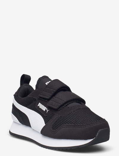 Puma R78 V PS - låga sneakers - puma black-puma white