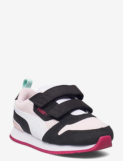 Puma R78 V Inf - låga sneakers - lotus-puma white-puma black