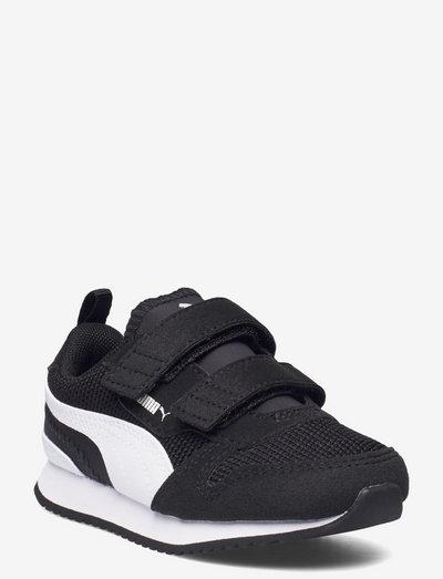 Puma R78 V Inf - låga sneakers - puma black-puma white