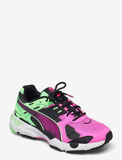 LQD CELL EXTOL OLD CIRCUITS - låga sneakers - puma black-luminous pink