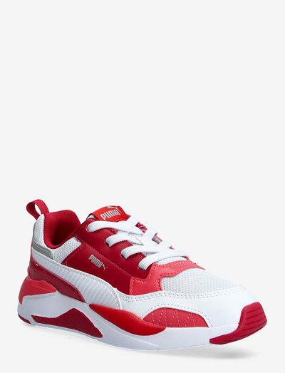 X-Ray 2 Square AC PS - låga sneakers - persian red-puma white-paradise pink-puma silver