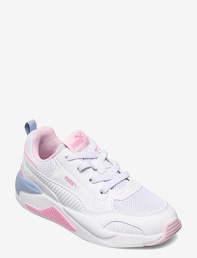 X-Ray 2 Square AC PS - låga sneakers - puma white-puma white-pink lady-forever blue