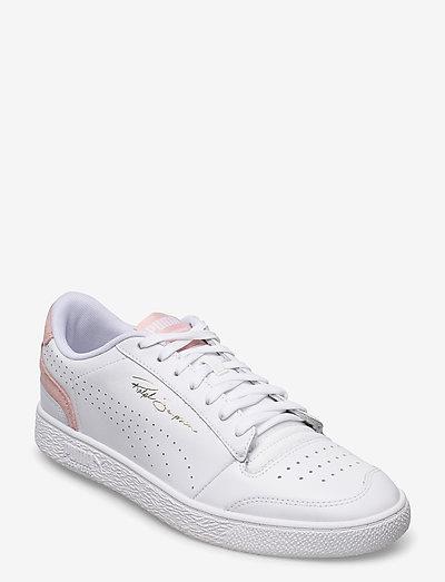 Ralph Sampson Lo ?Perf Colorblock - låga sneakers - puma white-peachskin