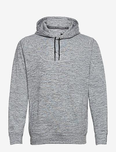 TRAIN CLOUDSPUN HOODIE - huvtröjor - medium gray heather