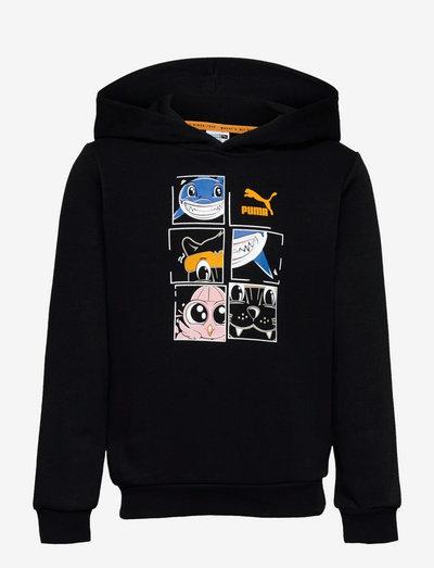 LIL PUMA Hoodie TR - kapuzenpullover - puma black