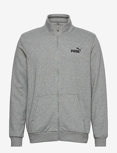 ESS Track Jacket TR - nyheter - medium gray heather