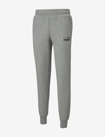 ESS Logo Pants FL cl - sweatpants - medium gray heather