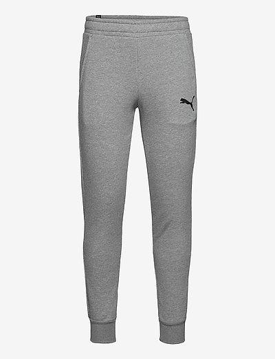 ESS Logo Pants FL cl - sweatpants - medium gray heather-cat
