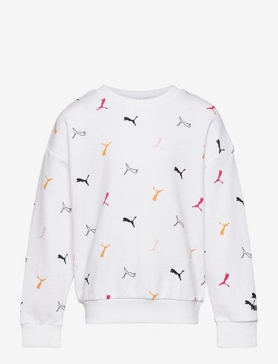 Classics Graphics AOP Crew G - sweatshirts - puma white