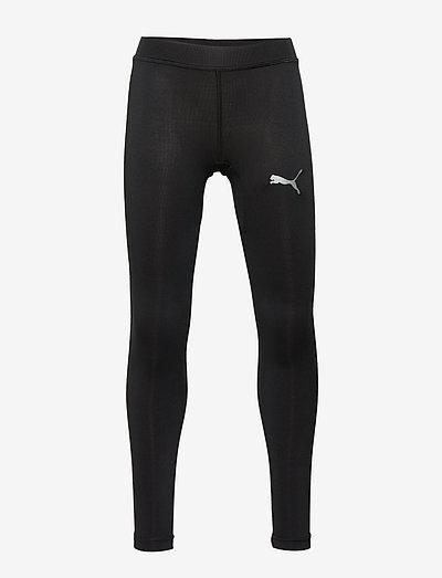 LIGA Baselayer Long Tight Jr - löpnings- & träningstights - puma black