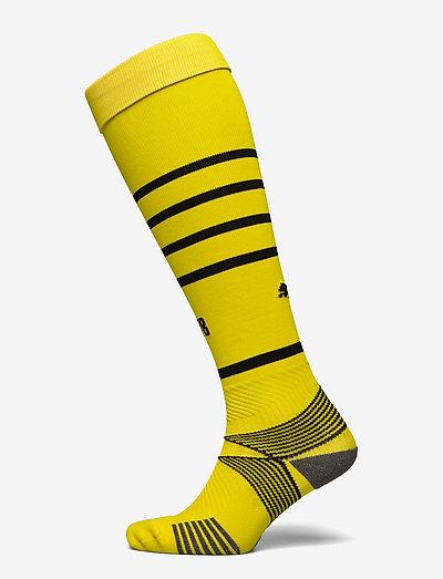 Team BVB Hooped Socks Replica - fotbollsstrumpor - cyber yellow-puma black