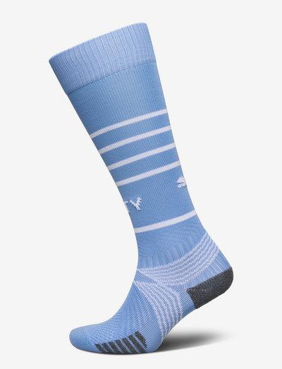 Team MCFC Hooped Socks Replica - fotbollsstrumpor - team light blue-puma white