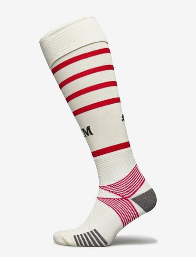 Team ACM Hooped Socks Replica - fotbollsstrumpor - afterglow-tango red