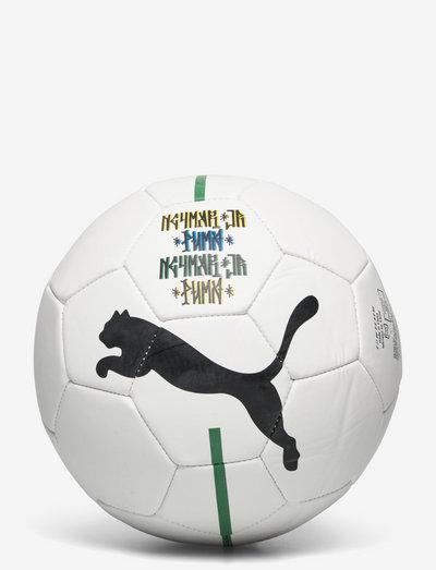 Neymar Jr Fan ball - sportutrustning - puma white-puma black-dandelion-amazon green