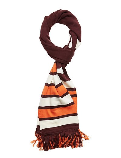 Long Varsity Scarf - WINETASTING-VANILLA ICE-FLAME