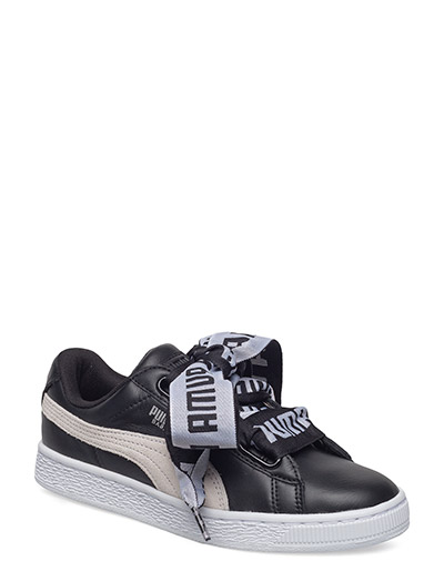 Basket Heart DE Wn's - PUMA BLACK-PUMA WHITE