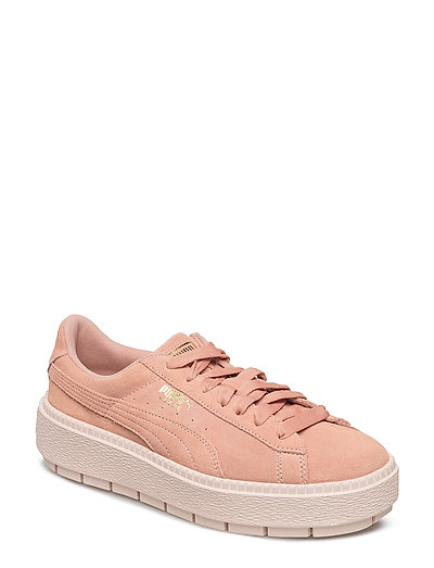 Suede Platform Trace Wn's - PEACH BEIGE-PEARL