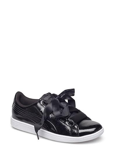 Puma Vikky Ribbon P (Puma Black-puma Black) (£44.80) - PUMA ... 087804e22