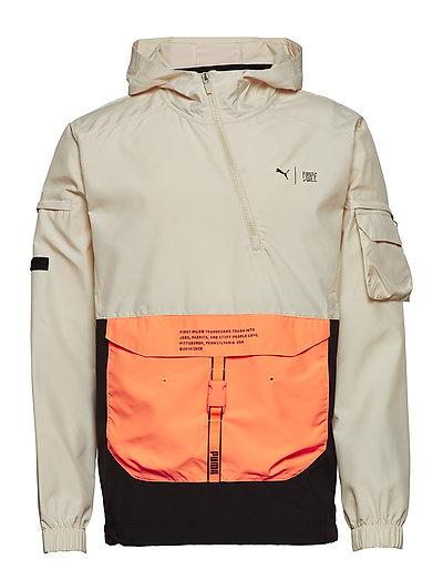 First Mile Utility Jacket Outerwear Jackets Anoraks Beige PUMA