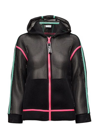 Chase Spacer FZ Hoody - PUMA BLACK