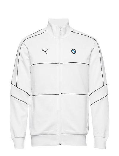 Bmw Mms T7 Track Jacket Sweat-shirt Pullover Weiß PUMA