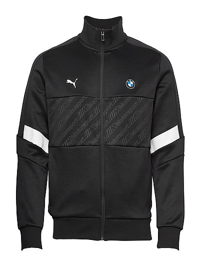 Bmw Mms T7 Track Jacket Sweat-shirt Pullover Schwarz PUMA